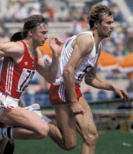 CZAS PIASTOWA marian woronin rekordzista sprinter